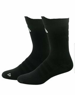 1 Pair Adidas Alphaskin Ultralight Crew Socks Men's Shoe Siz