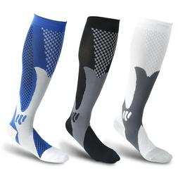 1 Pair Compression Socks Calf Sleeve Leg Support Brace 15-20