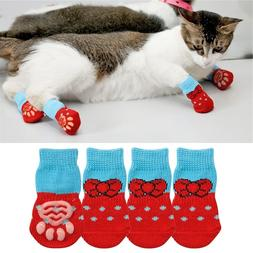 1 pair Creative Cat Coats Pet cat <font><b>socks</b></font>
