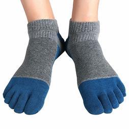1 Pair of Men's Short Socks Toe Socks Vibram 5 Five Fingers
