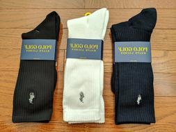 Polo Ralph Lauren 1 Single Pair Golf Crew Cushioned Comfort