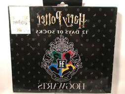 HARRY POTTER 12 DAYS OF SOCKS COLLECTIBLE GIFT SET 12 PAIRS