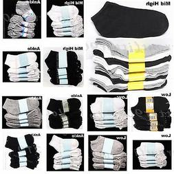 3 6 12 PACK Kid's Boy Girl Ankle Socks Lot Spandex Baby Todd