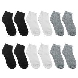 Falari 12 Pairs Boy Socks Girl Socks Toddler Socks Kids Cott