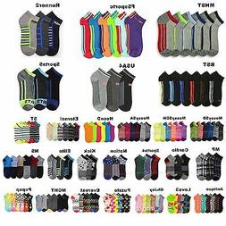 12 Pairs Lot Men Women Spandex Socks Multi Pattern Fashion C