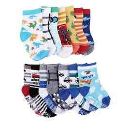 14 Pair Newborn Baby Boy Girl Cartoon Cotton Socks Infant To