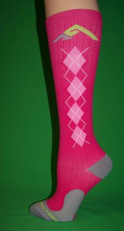 1pr Women's PC Performance Athletic Compression Running Sock