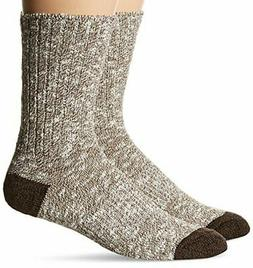 2 Pack ~ PowerSox Men's Sock Size L Cushioned Cotton Crew Bo