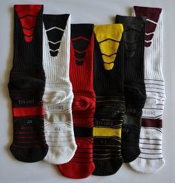 Nike Mens Elite Dri-Fit Performance Crew Socks PSX300 PICK