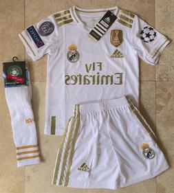 2019-2020 Real Madrid Champions League kids 3-4 years old ho