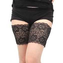 2019 Hot Sale Thigh Bands Black Summer Sexy Lace Flower Desi