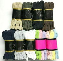 3 /6 /12 / Pair Non-Binding Top DIABETIC Colors Crew Sock Si