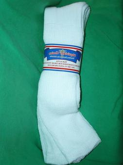 3, 6,12 Pairs White CASUAL,OVER THE CALF PHYSICIANS CHOICE,