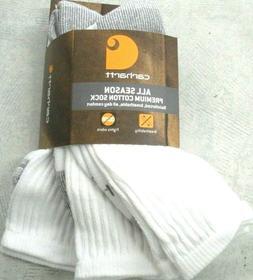 3 pack all season cotton crew socks