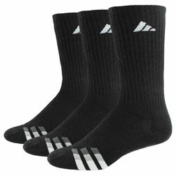3 pair men s cushioned crew socks