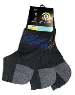 Champion 3 Pair Men's No Show Training Socks Shoe Size 6-12