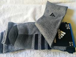 Adidas 3-pair Stripes Men's CREW Socks Cushioned Climalite
