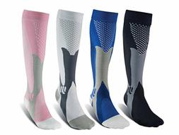 Compression Socks 20-30 mmHg Sports Calf Running Fitness Me