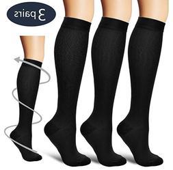 Compression X Socks Knee High 20-30mmHg Graduated Mens Wome