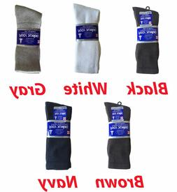 3, 6, or 12 Pairs Men's Diabetic CREW circulatory Socks Heal