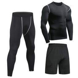161be0c1690 Niksa 3 Pcs Mens Fitness Gym Clothing Se...