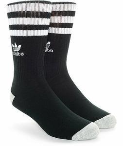 ADIDAS 3 Stripe Roller Mens Crew Socks
