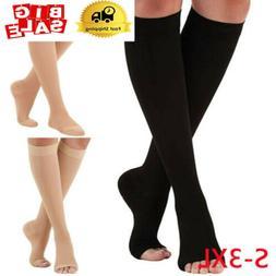 30-40mmHg Medical Compression Sock Knee High Support Stockin