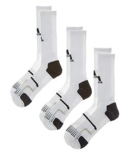 Russell Athletic 3Pair Men's Crew Socks Soccer Football Base