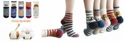 YSense 4-5 Pairs Womens Cute Funny Dog Socks Casual Cotton O