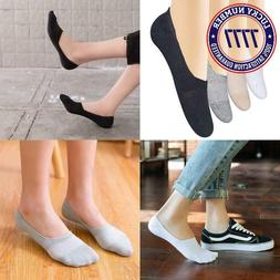 Chalier 4-8 Pairs Womens No Show Socks Flat Invisible Low Cu