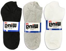 4 or 12 Pairs Mens Low Cut Below Ankle Socks Sport Cotton So