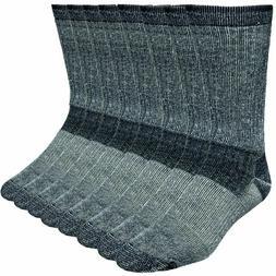 8ebcbfaa6 4-Pack Merino Wool Hiking Socks Made In ..