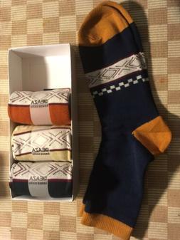 4 Pair Keaza Argile Style Men's Socks