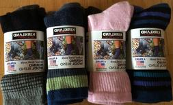 4 Pair Kirkland Ladies Merino Wool Trail Socks - MULTIPLE CO