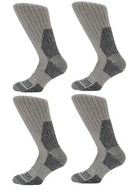 Dickies Gray Wool Thermal Boot Socks, Sz L -Winter Military