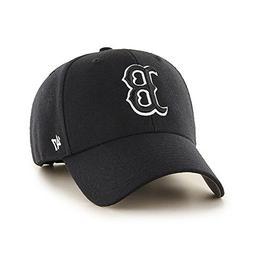 47 Brand Boston Red Sox MVP Dad Hat Cap MLB Black/White