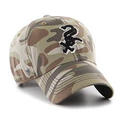 '47 MLB Chicago White Sox Women's Sparkle Camo Clean Up Hat,