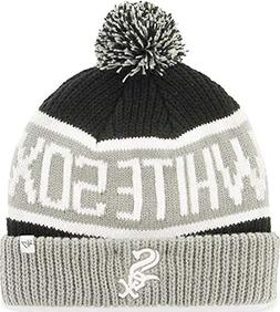 '47 MLB Chicago White Sox Calgary Cuff Knit Beanie with Pom,