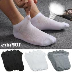 5/10 Pairs Men Ankle Socks Summer Low Cut Crew Casual Sport