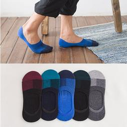 5 10 Pairs Mens Invisible No Show Nonslip Loafer Boat Ankle