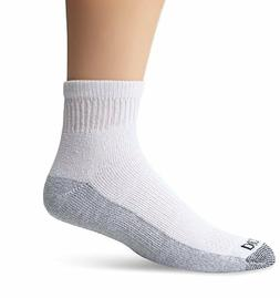 Dickies 5-Pair Quarter / Ankle Style Work Socks White 10/13