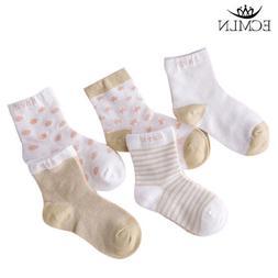 5 Pairs Baby Boy Girl Cartoon Cotton Socks NewBorn Infant To