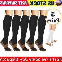 Compression Socks 20-30mmHg Support Graduated Relief Men's
