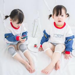 5Colors Crawling Anti-Slip Knee Pads Socks for Unisex Baby T