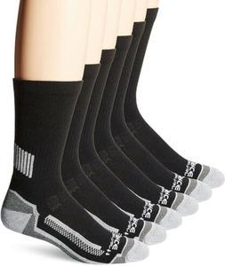 Carhartt 6 Pack Mens Work Crew Socks Breathable Lightweight