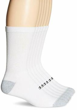 6 Pack of Champion Double Dry Performance Men's Crew Socks
