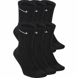 Nike 6 Pairs Everyday Cotton Cushioned Crew Socks Size L Men