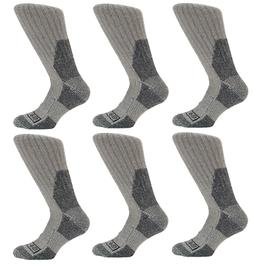 Dickies Gray Wool Thermal Boot Socks, M-L -Winter Military-