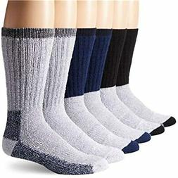 6 Pairs Of Excellent Mens Merino Wool Thermal Socks, Size 10