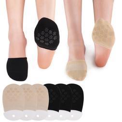 6 Pairs/set Women Half Foot Cover Socks Invisible Cotton Sum
